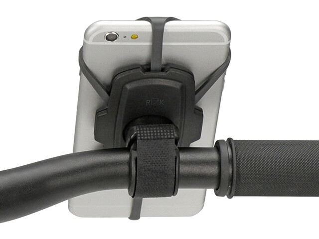 KlickFix PhonePad Loop Soporte para teléfono, black